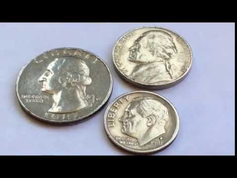 15000$$$ ERROR 1981 P USA COIN VALUE COLLECTION WASHINGTON QUARTER  JEFFERSON NICKEL ROOSEVELT DIME