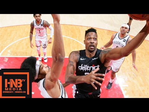 Brooklyn Nets vs Washington Wizards Full Game Highlights   11.16.2018, NBA Season