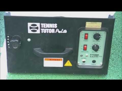 Tennis tutor prolite ball machine review