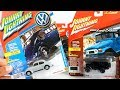 JOHNNY LIGHTNING - 1950 VW SPLIT WINDOW BEETLE & 1980 TOYOTA LAND CRUISER