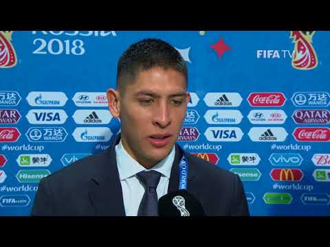 Edson ALVAREZ (Mexico) - Post Match Interview - MATCH 11