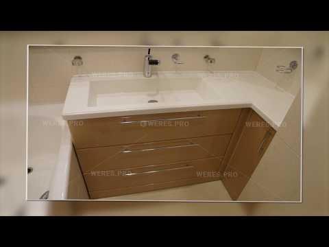 Мебель для ванной комнаты фото. Изготовление на заказ