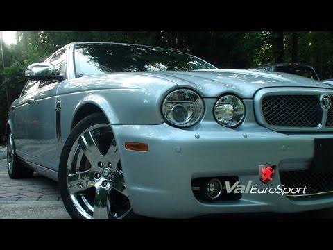 2008 Jaguar XJ Vanden Plas for sale rear DVDs 4 zone shades GPS