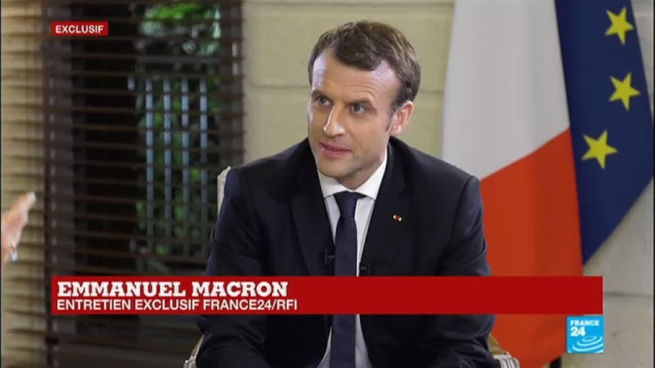 EXCLUSIF - Emmanuel Macron :