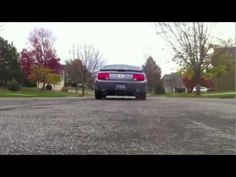 2007 Mustang Borla ATAK Full Cat-Back Exhaust System