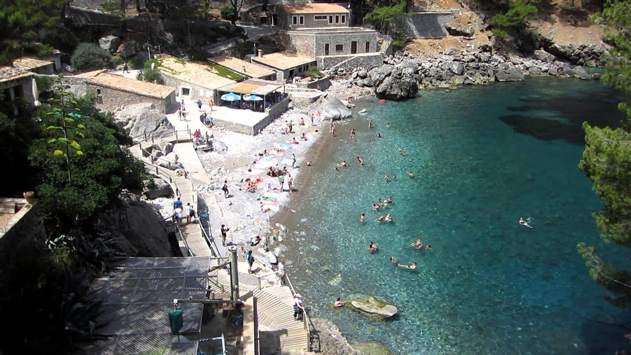 Cala de Sa Calobra - Strand - 26.07.2012, Mallorca - YouTube