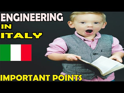 Engineering in Italy | How to get admission in Italy