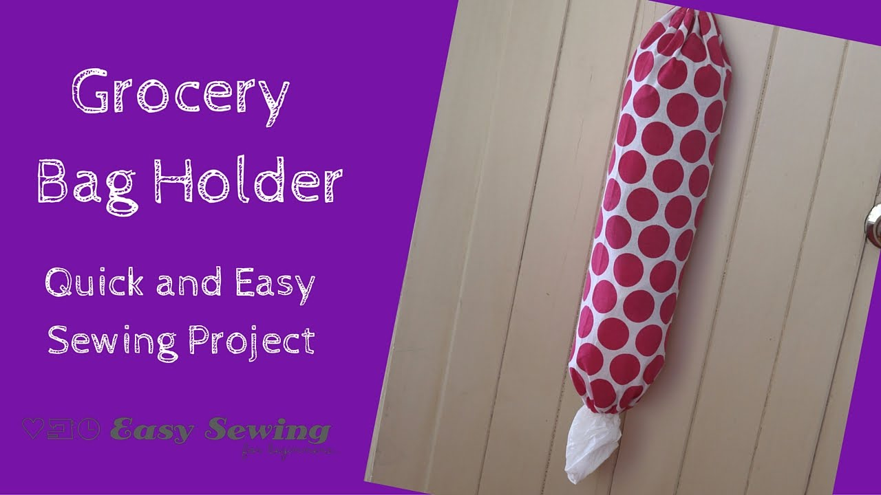 How To Make A Grocery Bag Holder Step By Tutorial