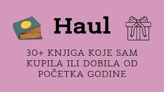 Haul - Sve Knjige Koje Sam Kupila/dobila Od Početka 2021.