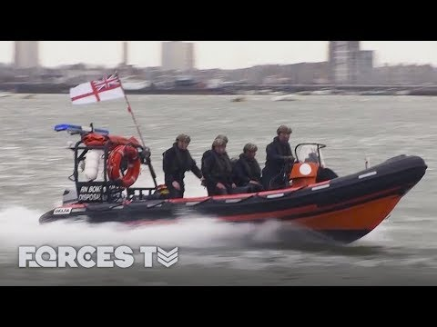 What It Takes To Be A Royal Navy Bomb Clearance Diver | Forces TV