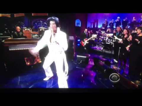 Elvis on Letterman