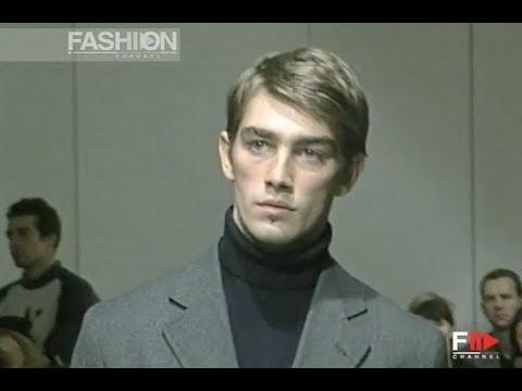 TRUSSARDI Fall Winter 1998 1999 Menswear Milan - Fashion Channel