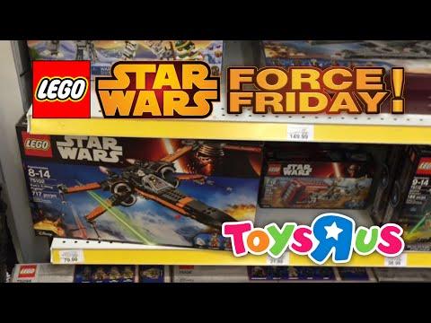 LEGO Star Wars Force Friday Toys