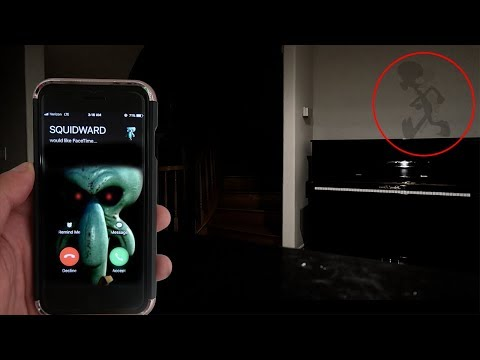 CALLING SQUIDWARD ON FACETIME AT 3 AM | SQUIDWARD CAUGHT PLAYING PIANO [MUST WATCH]