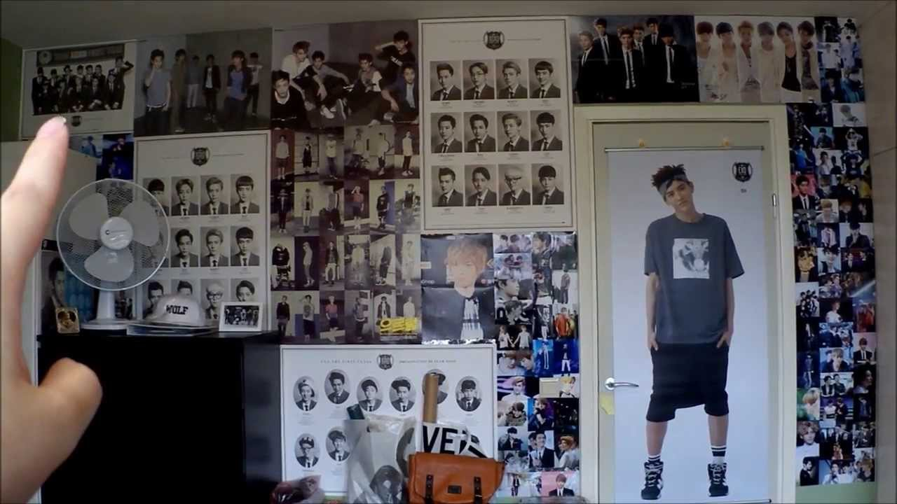 Jessie S K Pop Corner Kpop Room Tour Update 13 09 01