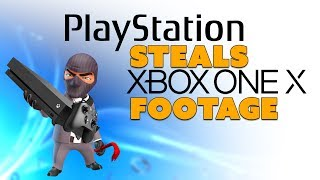 PlayStation STEALS Xbox One X Gameplay!? - The Know Game News