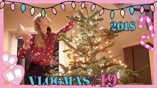 VLOGMAS #19: Dekorujemy choinkę!