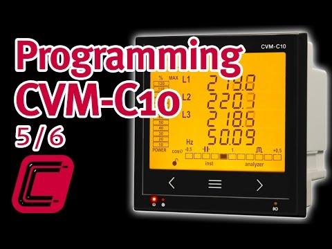 Programming CVM-C10: Configuration Of Communications