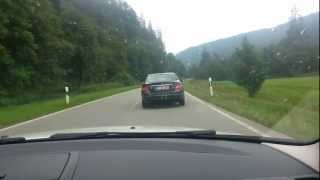 Driving in scharzwald germany