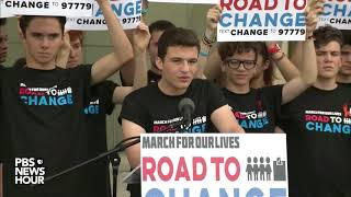 WATCH: March For Our Lives organizers hold press conference in Parkland, FL