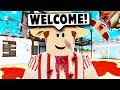 I GOT TRAPPED IN A HAUNTED CARNIVAL! (Roblox Blxoburg) Roblox Roleplay