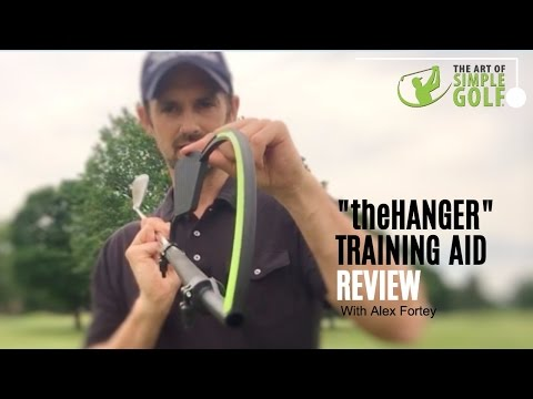 Golf Swing Training Aid Review – the Hanger For Perfect Wrist Action In Your Golf Swing