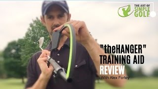 Golf Swing Training Aid Review - the Hanger For Perfect Wrist Action In Your Golf Swing