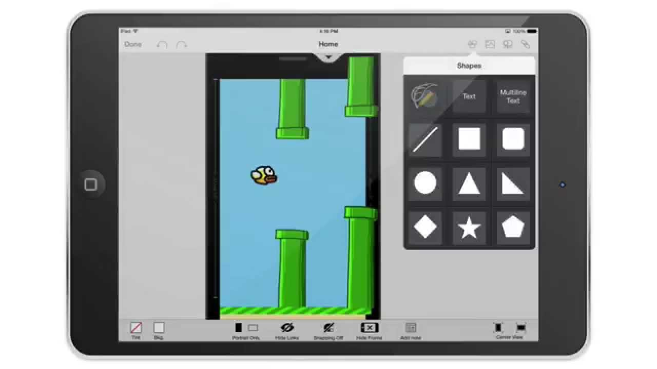 Mockup flappy bird with appcooker youtube mockup flappy bird with appcooker malvernweather Choice Image