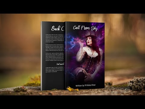 How To Design Ebook Cover - Photoshop Tutorial