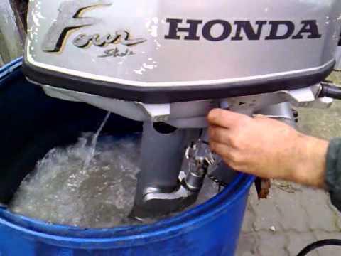 Honda bf 5 hp outboard motor 2002r four stroke 4 suw for Honda 2 5 hp outboard motor
