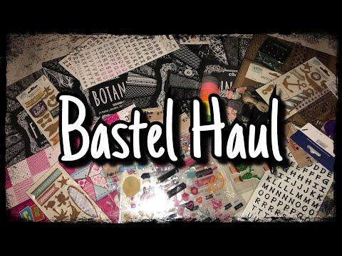 Bastel Haul (deutsch), Tedi Haul, NanuNana uvm., neue Blöcke, Scrapbook basteln mit Papier, DIY