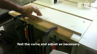 How To Cut A Curve In Wood