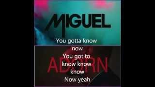 Miguel Adorn Lyrics