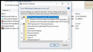 resolve ArcGIS For Desktop Requires Microsoft  NET Framework 3 5 sp1