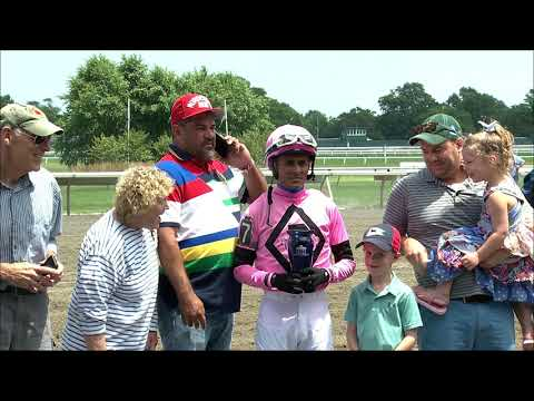 video thumbnail for MONMOUTH PARK 7-13-19 RACE 2