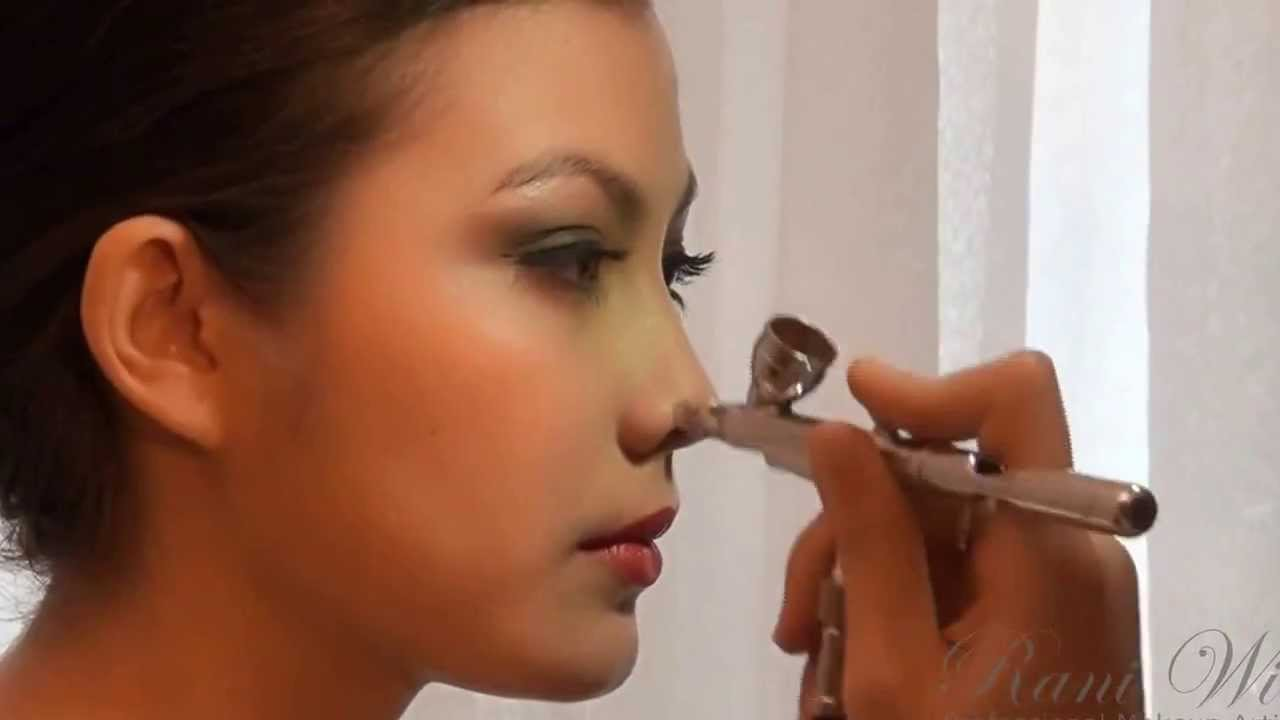 Image result for Airbrush mobile makeup