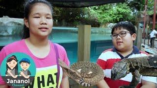 จาน่า ไจโร แอบดูสัตว์ที่สวนสัตว์สิงคโปร์ | เที่ยวสิงค์โปร์ ep#4 | จาน่าน้อย