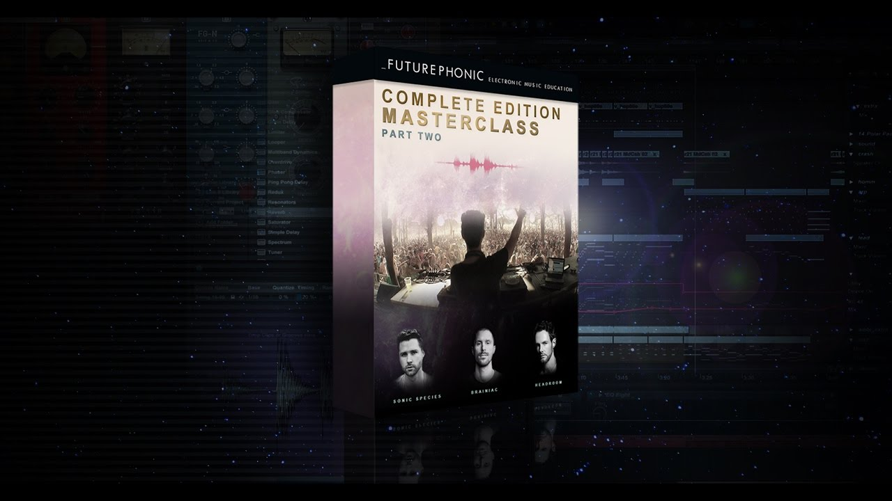 futurephonic the complete edition masterclass part two tutorial