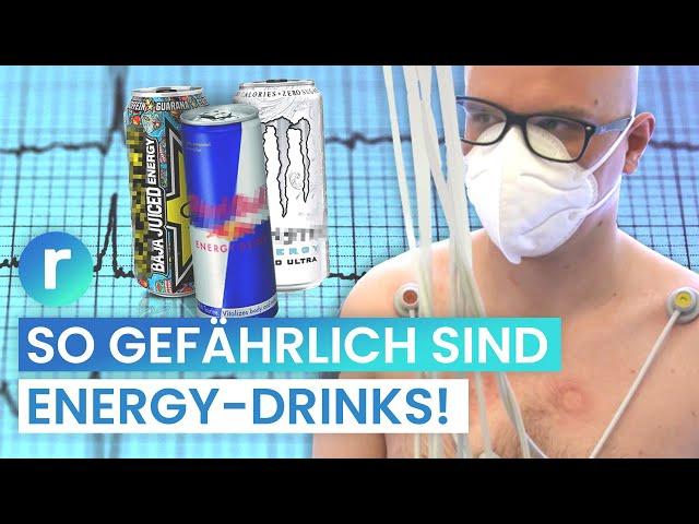 Red Bull, Monster & Co.:  Hat Felix sein Herz kaputt getrunken? | reporter