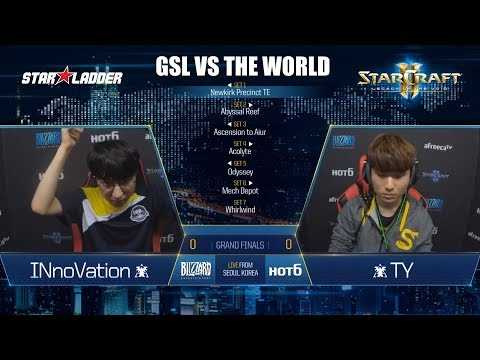 GSL vs the World Final: INnoVation (T) vs TY (T)