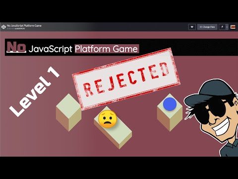ONLY HTML/CSS Platform Game In 1 Hour - @Dev Ed Challenge