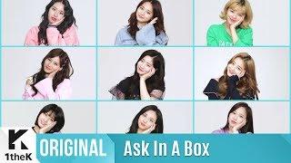Ask In A Box Special(에스크 인 어 박스 스페셜): TWICE(트와이스) _ What is Love?(제자리 댄스 Ver.)