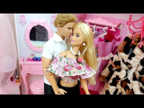 Barbies hookup with ken dress up
