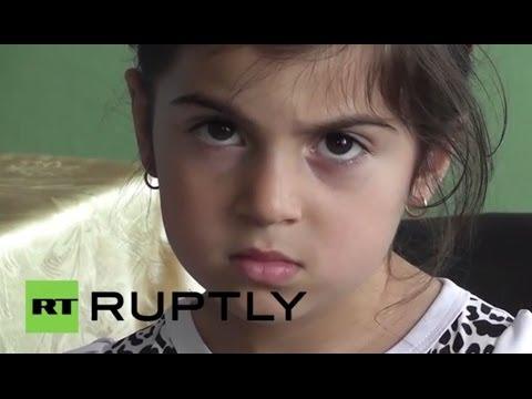 Russia: Families fleeing