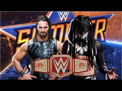 Download SUMMERSLAM : Seth Rollins vs Finn Balor (Demon King) UNIVERSAL CHAMPIONSHIP MATCH