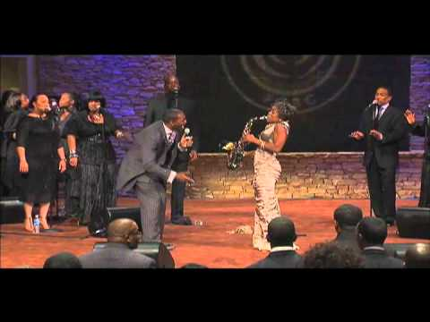 Angella Christie - Don't Do It Without Me with Earnest Pugh (excerpt)
