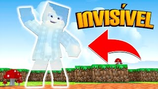 Minecraft: DISFARCE INVISÍVEL - (Esconde Esconde Troll)