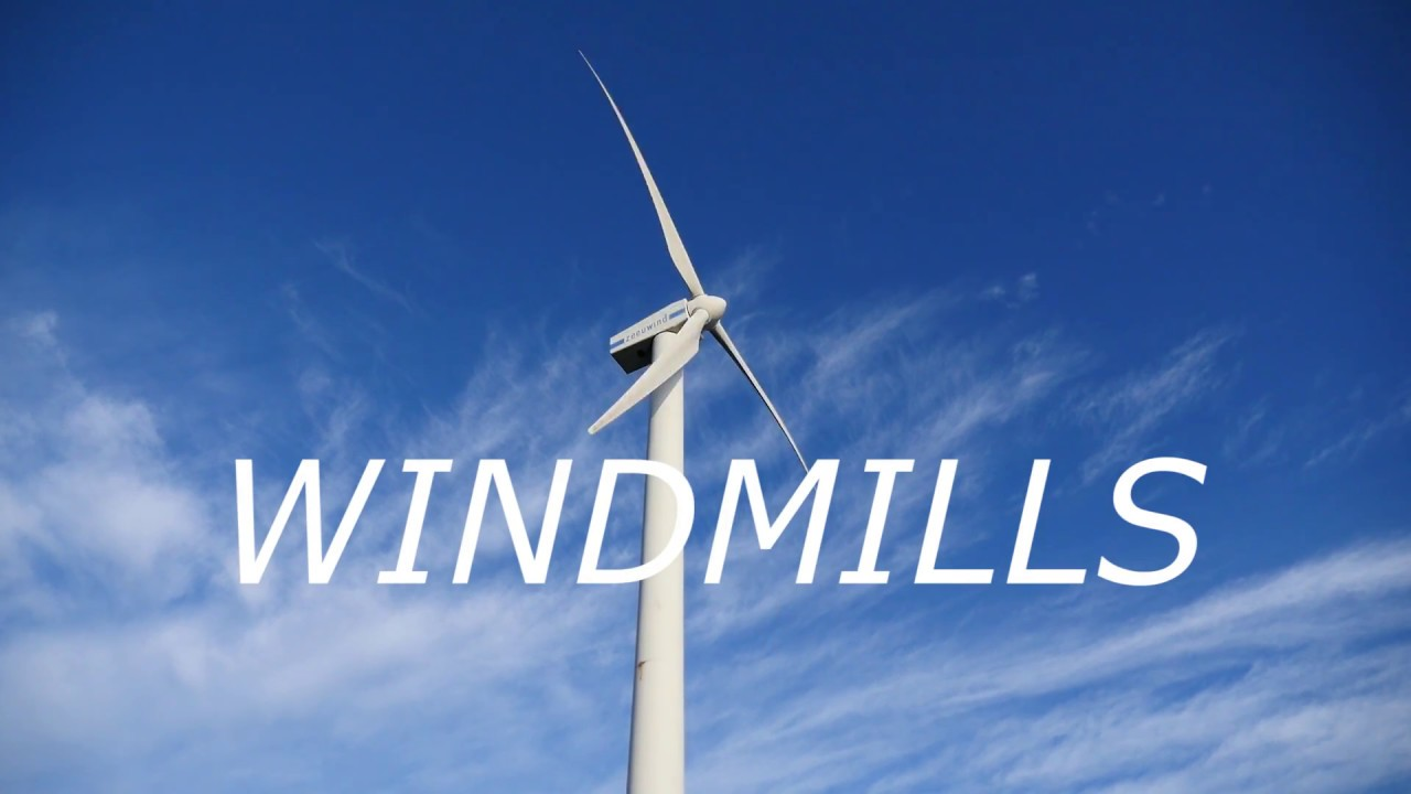 windmills and windturbines This is because windmills are used to do work, such as grind grain or pump water from a well windmills operate on the law of conservation of momentum.