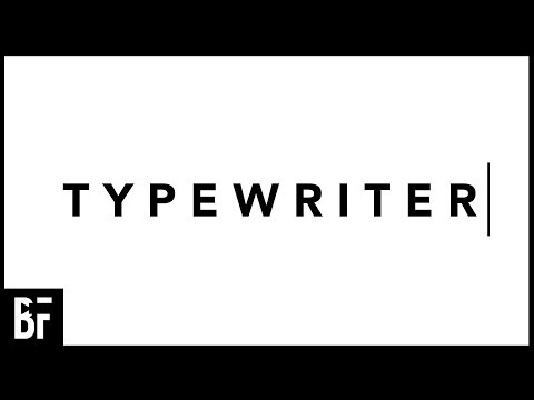 Typewriter Effect in Premiere 2018
