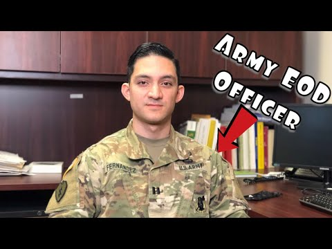 Q&A With An Army EOD Officer